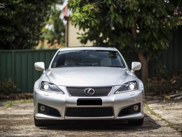 Renting out with online payment: 2011 Lexus ISF