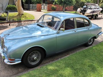 Renting out with online payment: 1965 Jaguar Mark 2, S-Type