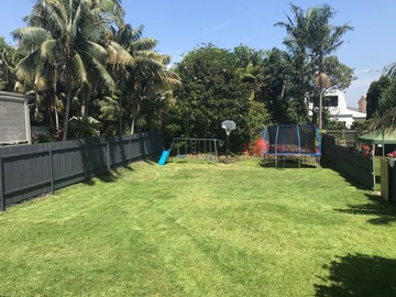 Renting out with online payment: Garden with Kid's Play Area