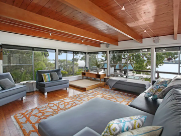 Renting out with online payment:  Living Room with a View