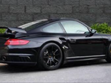 Renting out with online payment: Black Porsche 911 997 gt2