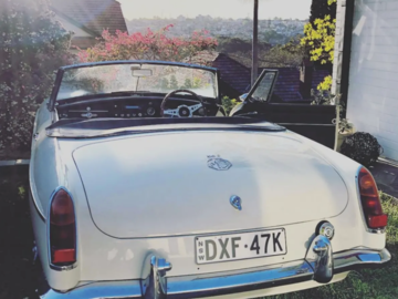 Renting out with online payment: 1964 MGB