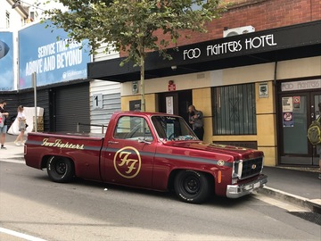 Renting out with online payment: American Pickup - Chevrolet C10 Truck