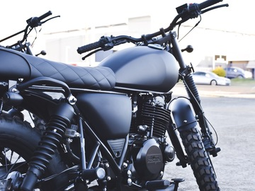 Renting out with online payment: 3x Mutt Motorcycles (street scrambler)