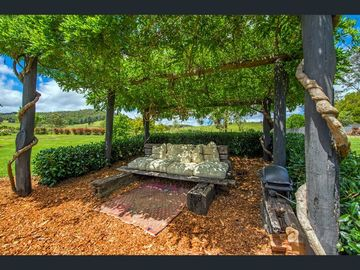 Renting out with online payment: Outdoor Sitting Area with Rural Valley Views