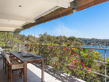 Renting out with online payment: Large Deck with Pittwater View
