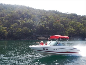 Renting out with online payment: Bow rider 5.5 metres