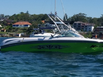 Renting out with online payment: Wakeboard Boat