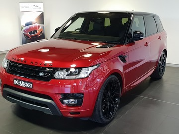 Renting out with online payment: Range Rover Sports