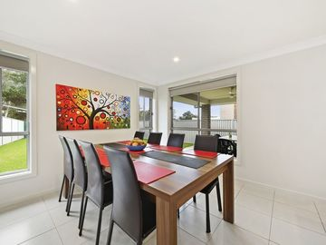 Renting out with online payment: Eight Seater and Spacious Dining Area