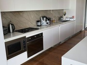 Renting out with online payment: Open Plan Kitchen with Outdoor Access