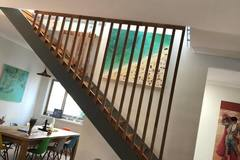 Renting out with online payment: Staircase with Beautiful Handrails