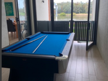 Renting out with online payment: Pool Table