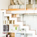 Renting out with online payment: Cleverly Designed Stairs