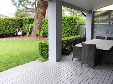 Renting out with online payment: Covered Deck with Seating Area