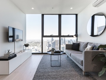 Renting out with online payment: Stunning City Views as Seen from the Living Room Windows