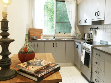 Renting out with online payment: Full Kitchen
