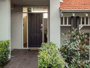 Renting out with online payment: Contemporary Door
