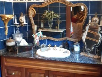 Renting out with online payment: Moulin Rouge Inspired Bathroom