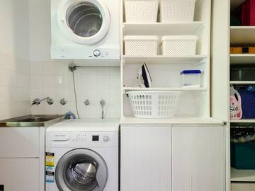 Renting out with online payment: Fully Equipped Laundry