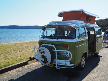 Renting out with online payment: 1974 VW Kombi