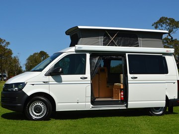 Renting out with online payment: Frontline VW T6 campervan