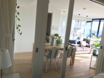Renting out with online payment: A botanical style apartment with panorama view of  Melbourne