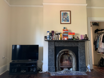Renting out with online payment: Old style living room