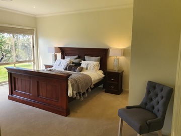 Renting out with online payment: Main Bedroom with King Size Bed