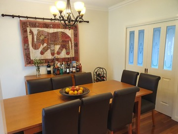 Renting out with online payment: Formal Dining Area