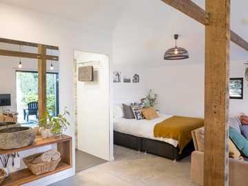 Renting out with online payment: Kite Shed Bedroom