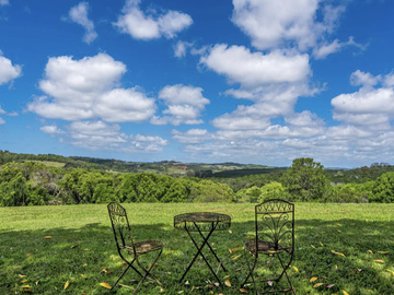Renting out with online payment: Outdoor Seating Area with Greenery Views