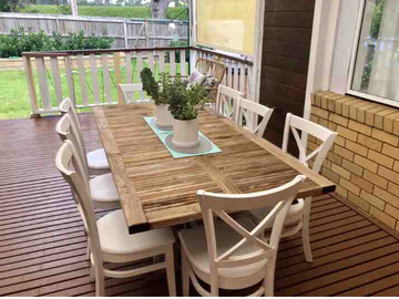 Renting out with online payment: Deck with Alfresco Dining