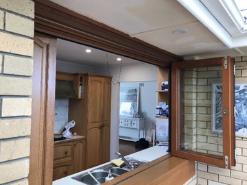 Renting out with online payment:  Kitchen with Ample Light