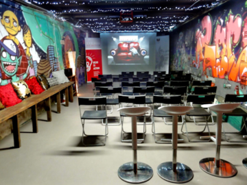 Renting out with online payment: Basement Event Space