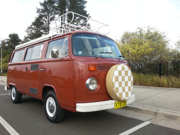 Renting out with online payment: 1976 VW Kombi