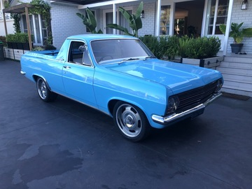 Renting out with online payment: 1967 Holden HR ute
