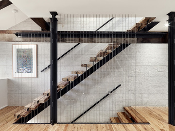 Renting out with online payment: Industrial Staircase
