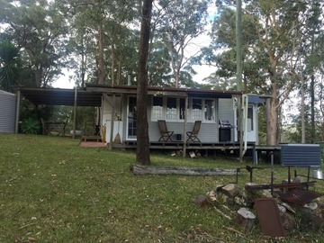 Renting out with online payment: Rustic cabin