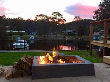 Renting out with online payment: Firepit with a view