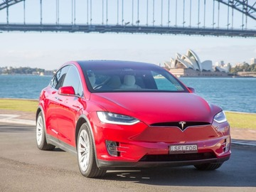 Renting out with online payment: Tesla Model X