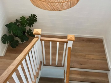 Renting out with online payment: Wooden Staircase